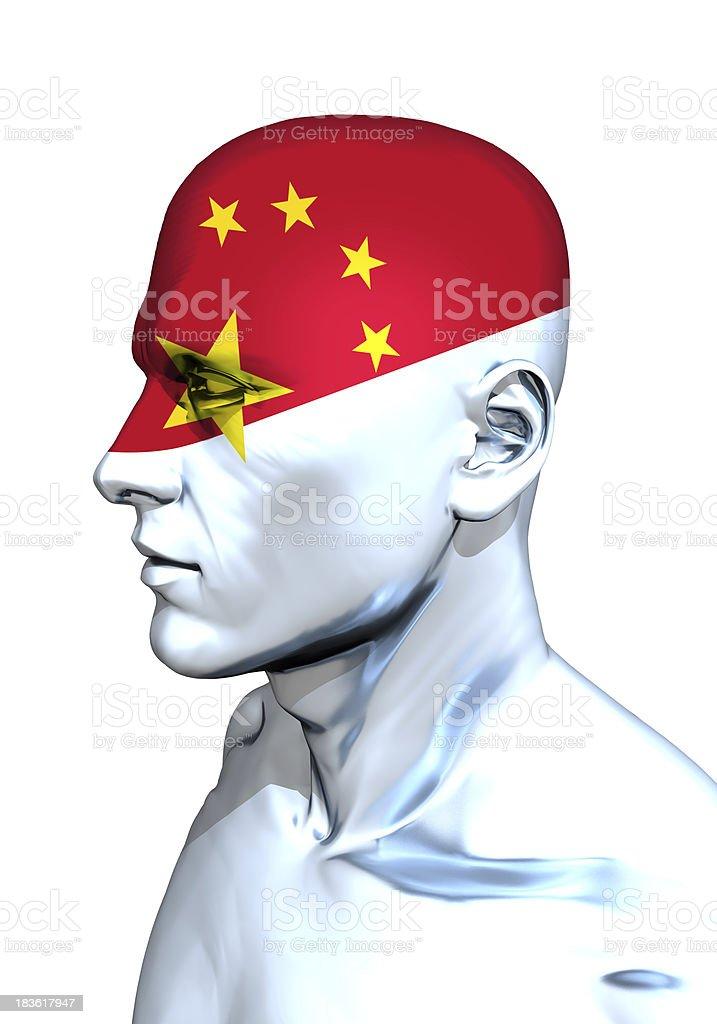 Red Head stock photo