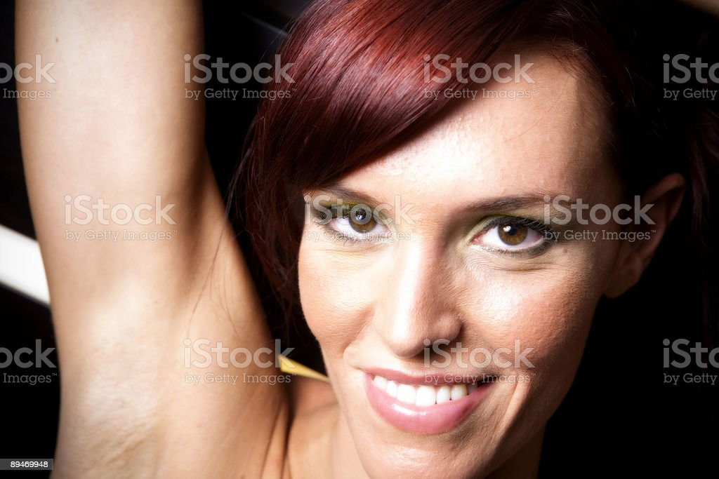 Red Head royalty-free stock photo