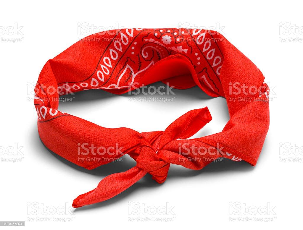 Red Headband stock photo