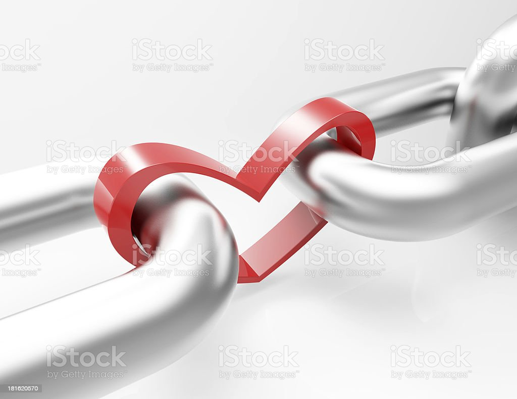 Red Heart Concept royalty-free stock photo