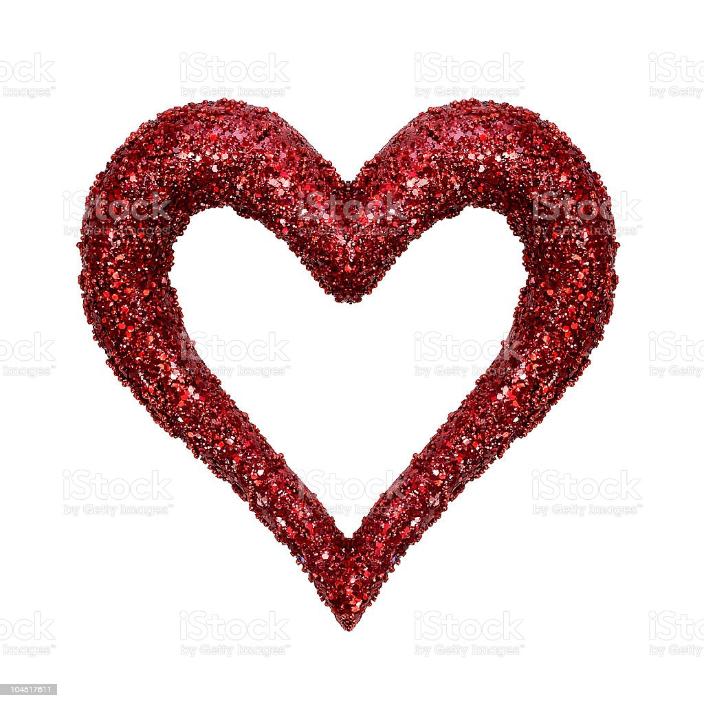 Red Heart (Craft) stock photo
