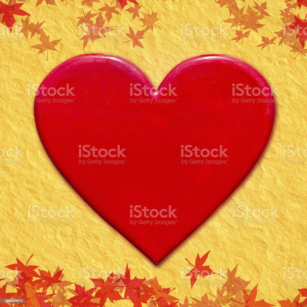 Red Heart shape royalty-free stock photo