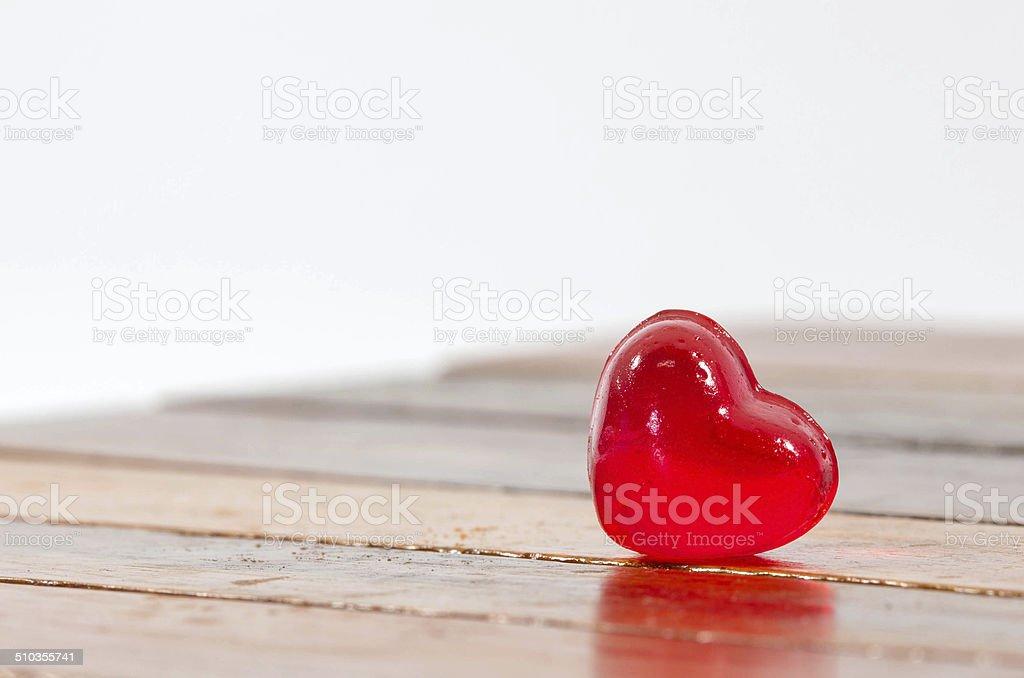 red hearth stock photo