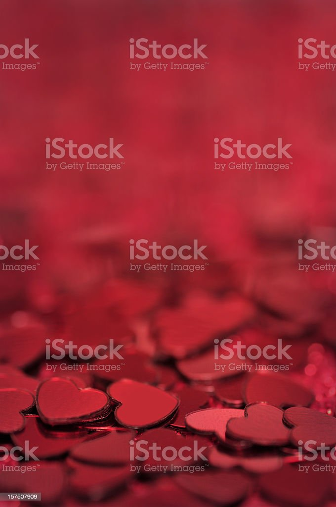 Red hearts background royalty-free stock photo