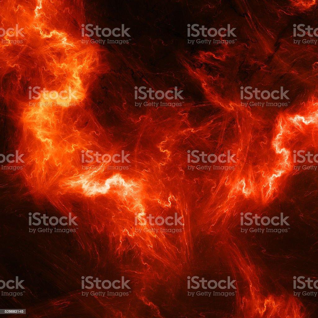 Red high energy lightening stock photo