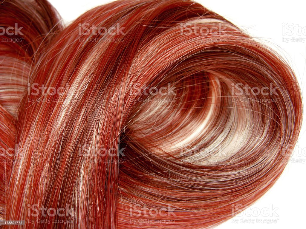 red highlight hair texture background royalty-free stock photo