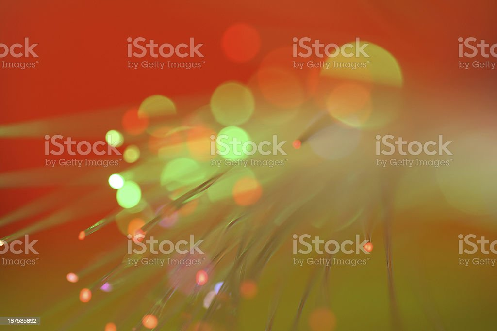 Red Holiday Light Background royalty-free stock photo