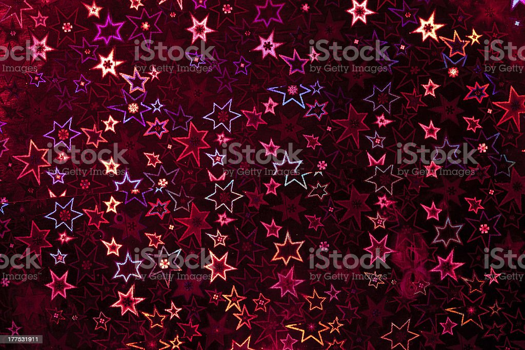 Red holographic paper royalty-free stock photo