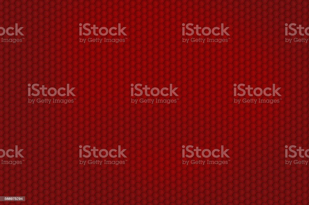 red honeycomb pattern for background texture stock photo