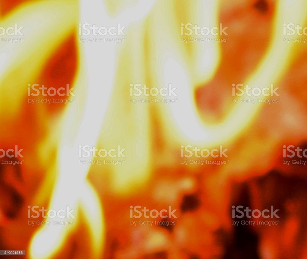 red hot burning fire close up flames background stock photo