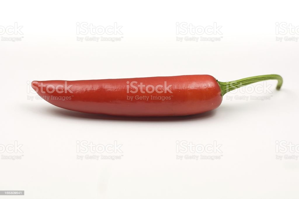 Red hot chilli pepper stock photo