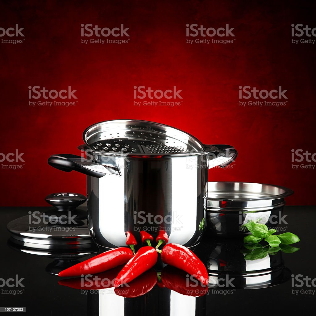 Red hot chilli peppers royalty-free stock photo