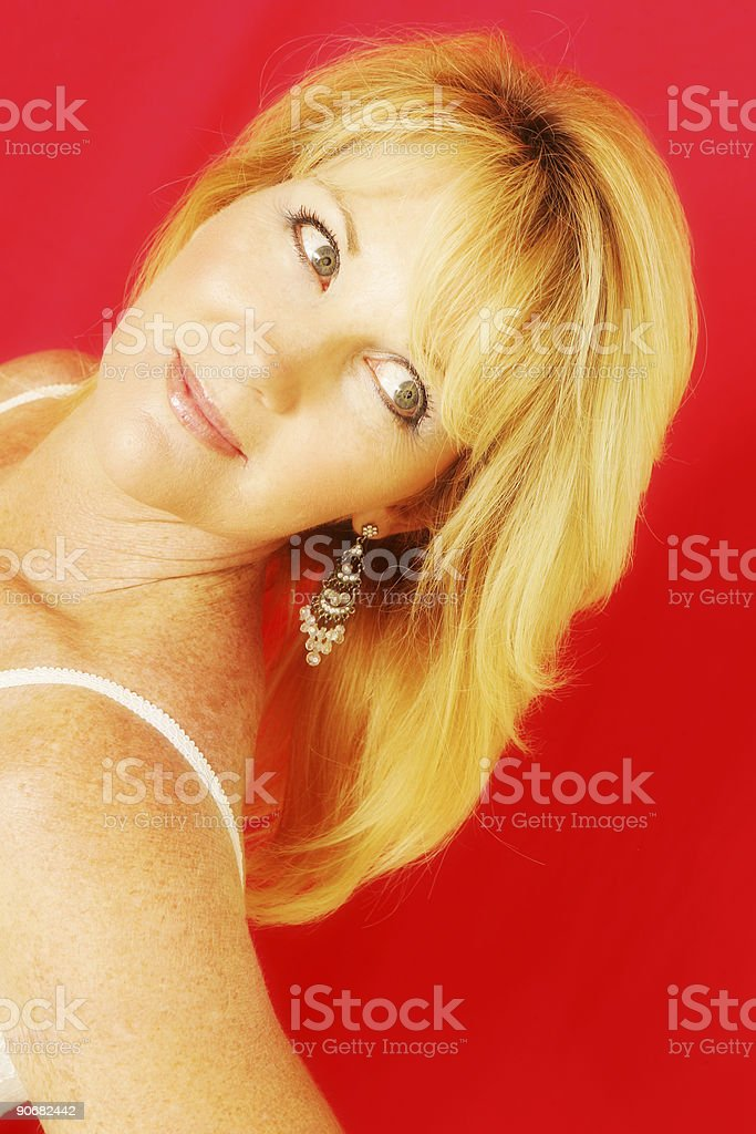 Red Hot Glamour stock photo
