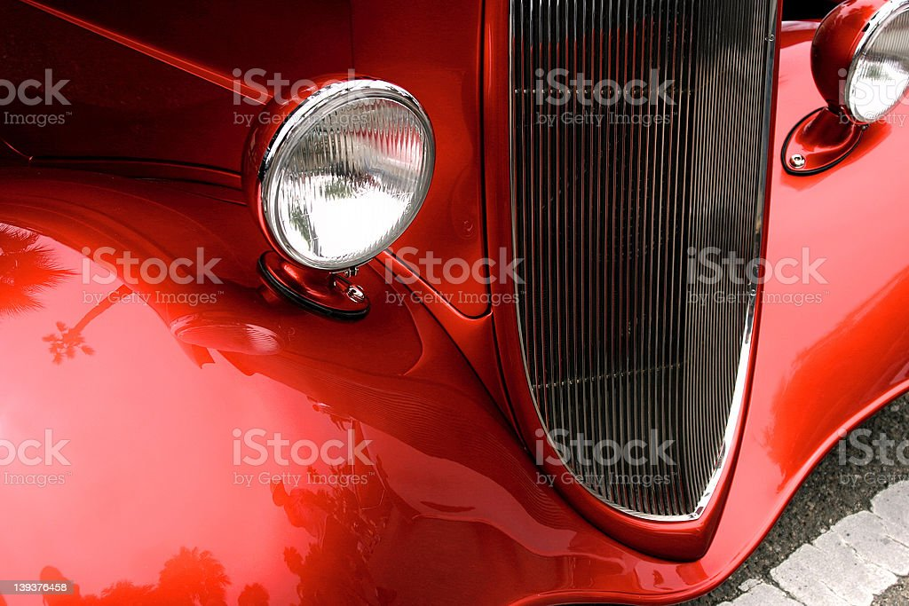 Red Hot, Hot Rod! stock photo