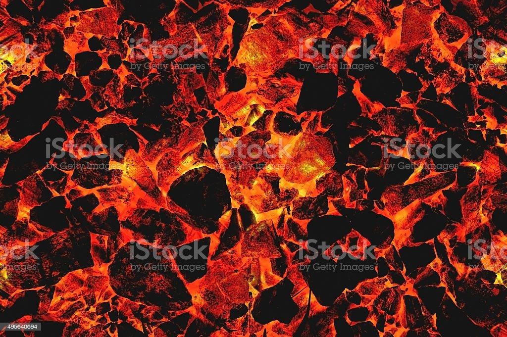 red hot lava pattern illustration background stock photo