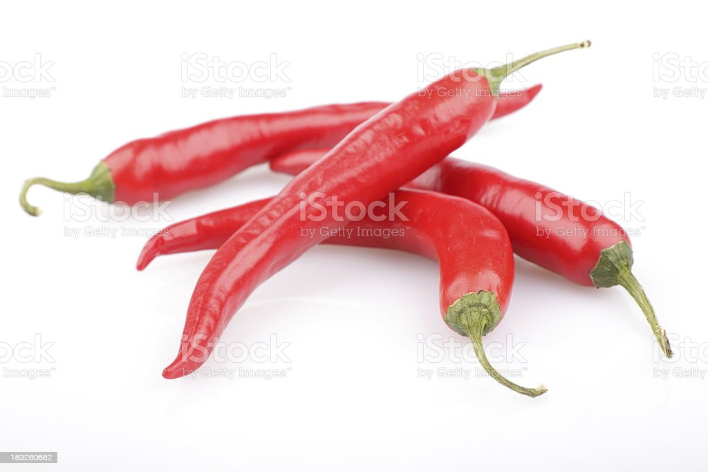 Red Hot Peppers royalty-free stock photo