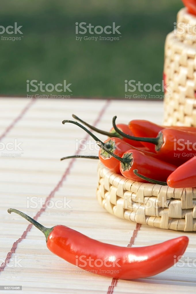Red Hots stock photo