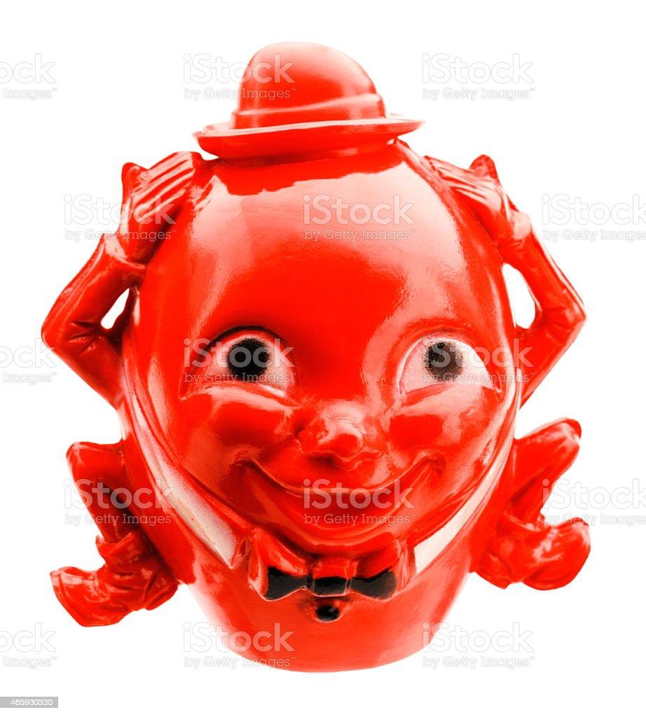 Red Humpty Dumpty stock photo