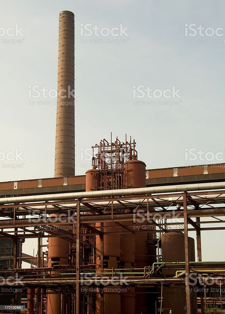 red industry royalty-free stock photo