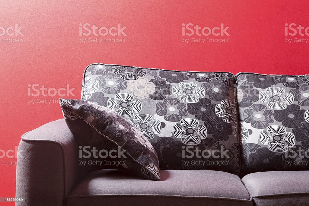 red interior royalty-free stock photo