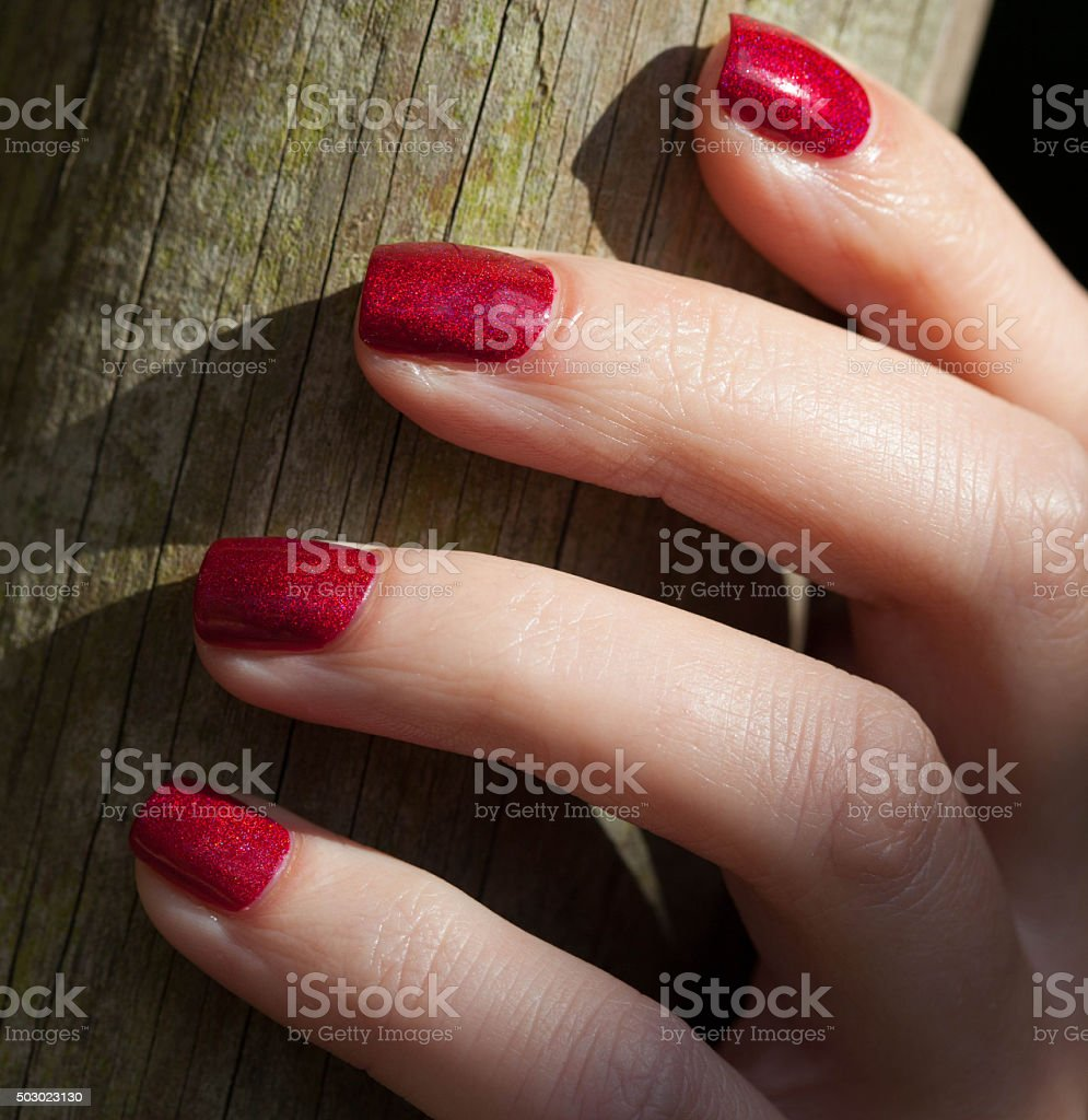 red is beautiful stock photo