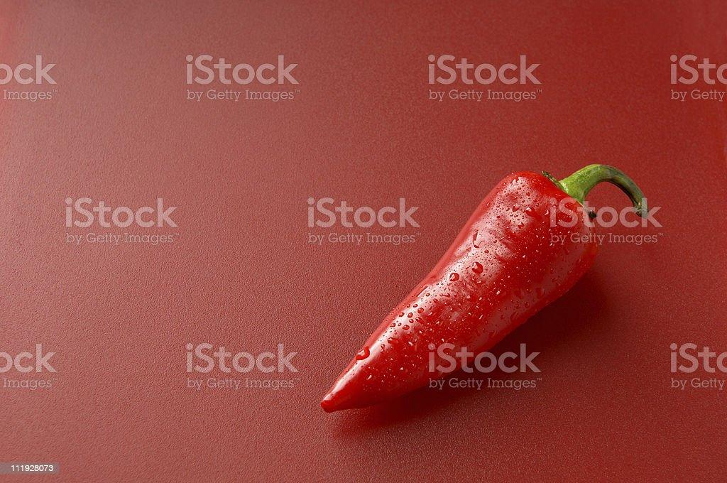 Red Jalapeno stock photo