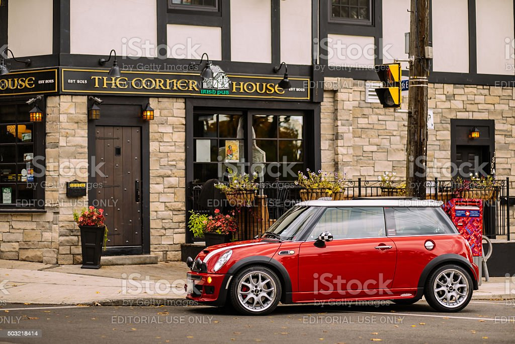 Red JCW stock photo