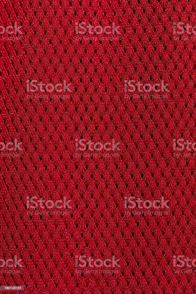 Red jersey stock photo