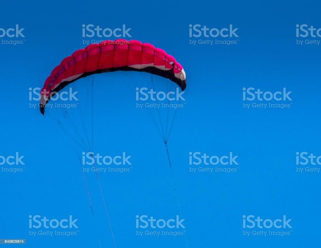 Red Kite flying stock photo