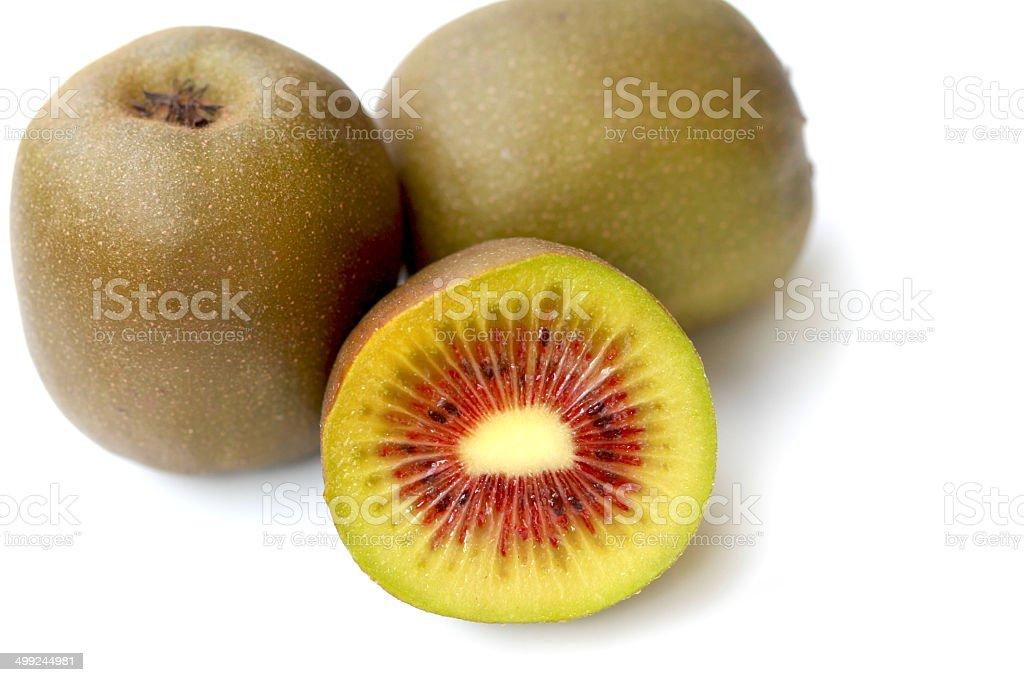 Red kiwifruit / Enza stock photo
