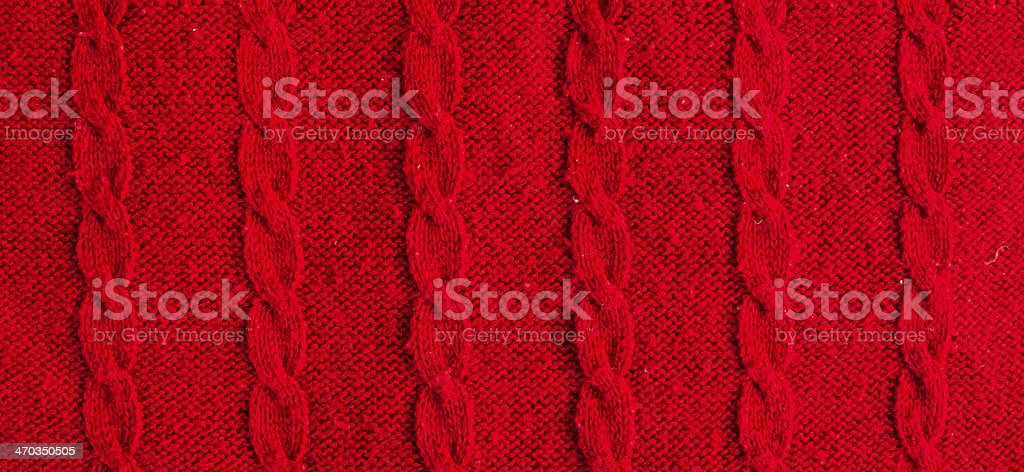 Red knitwear royalty-free stock photo