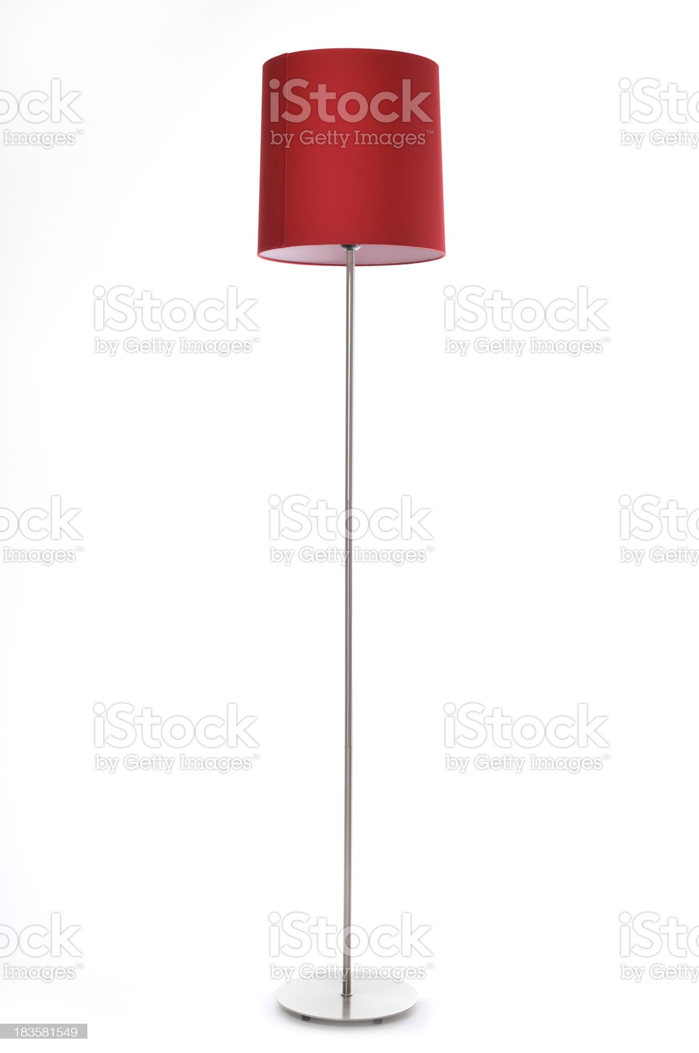 Red lamp royalty-free stock photo
