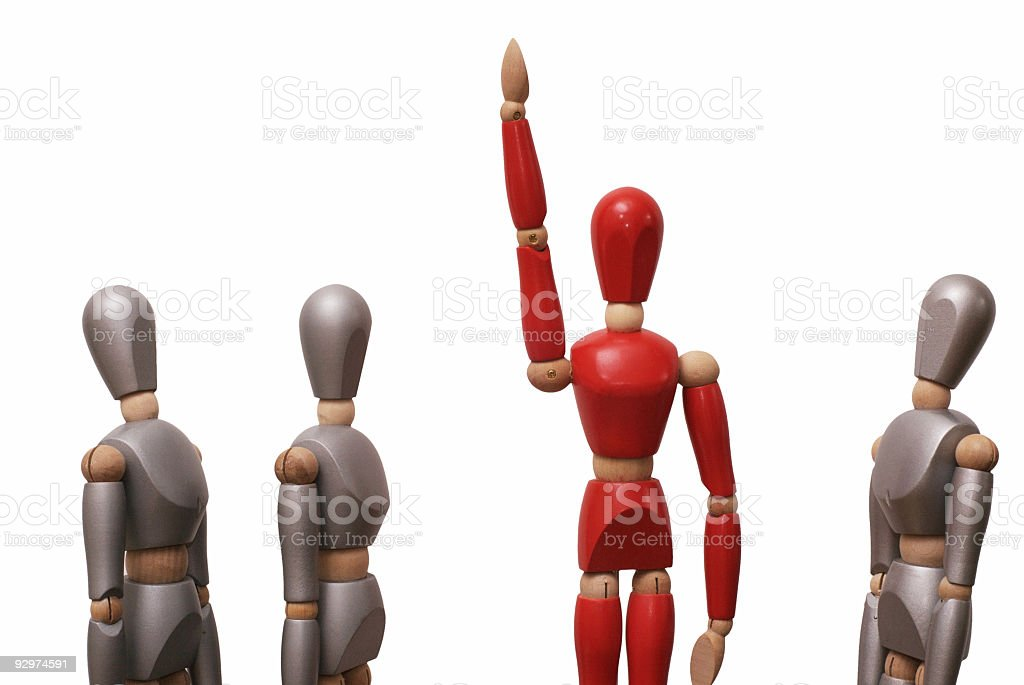 Red Leader 1 royalty-free stock photo