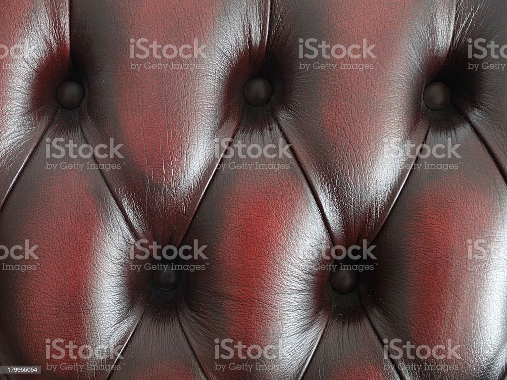 Red Leather Background 2 royalty-free stock photo
