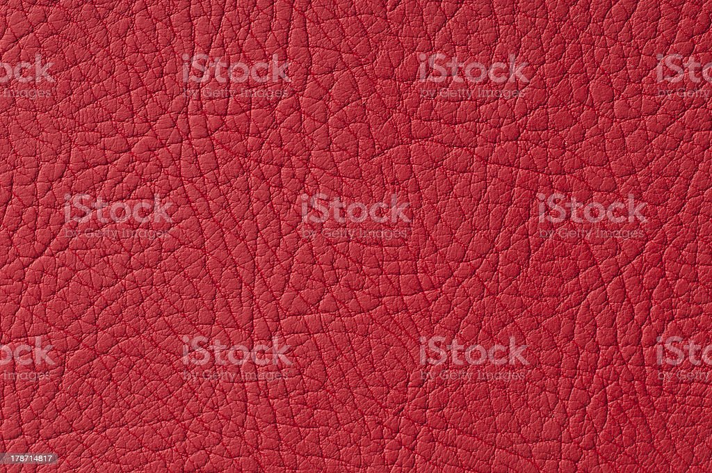 Red leather background royalty-free stock photo