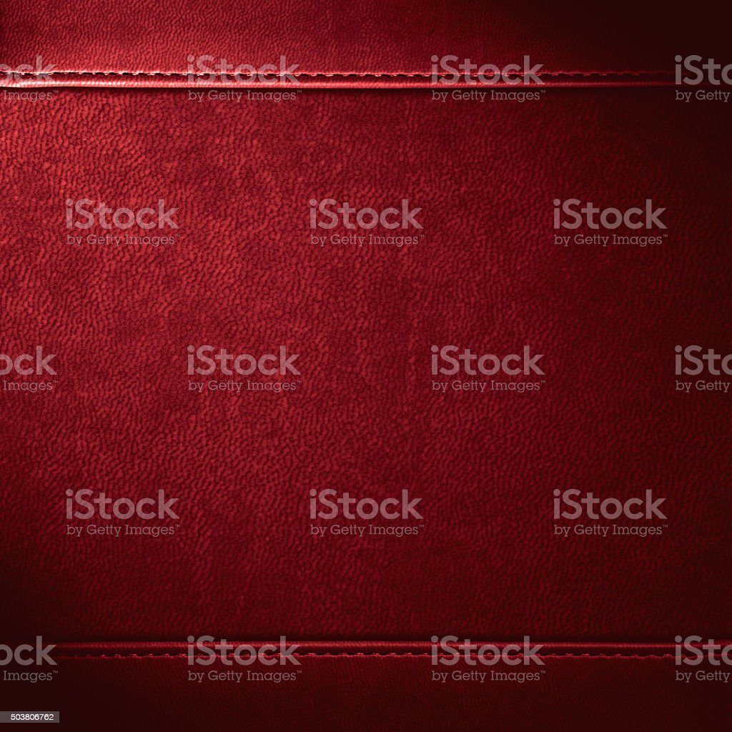 red leather background stock photo