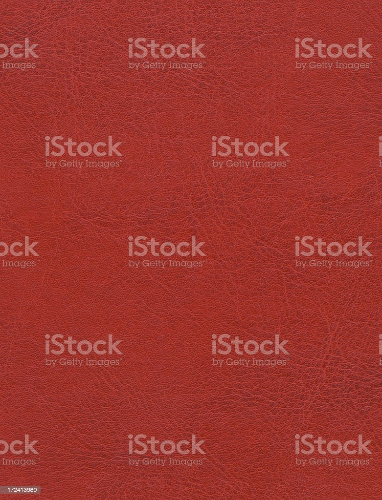 XXL Red leather royalty-free stock photo
