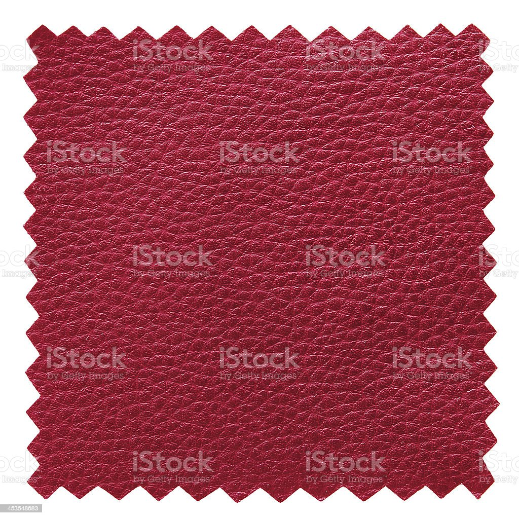 red leather samples texture royalty-free stock photo