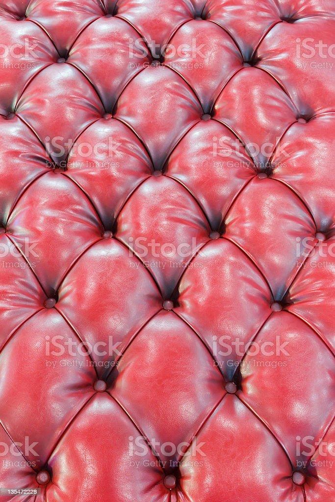 Trama in pelle rossa foto stock royalty-free