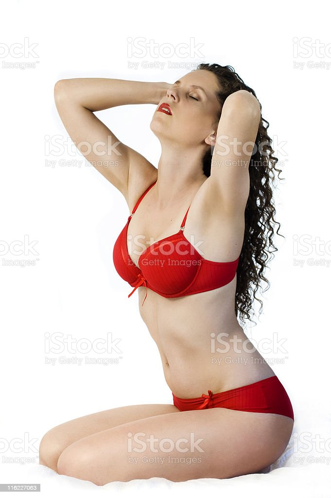 red lengerie royalty-free stock photo