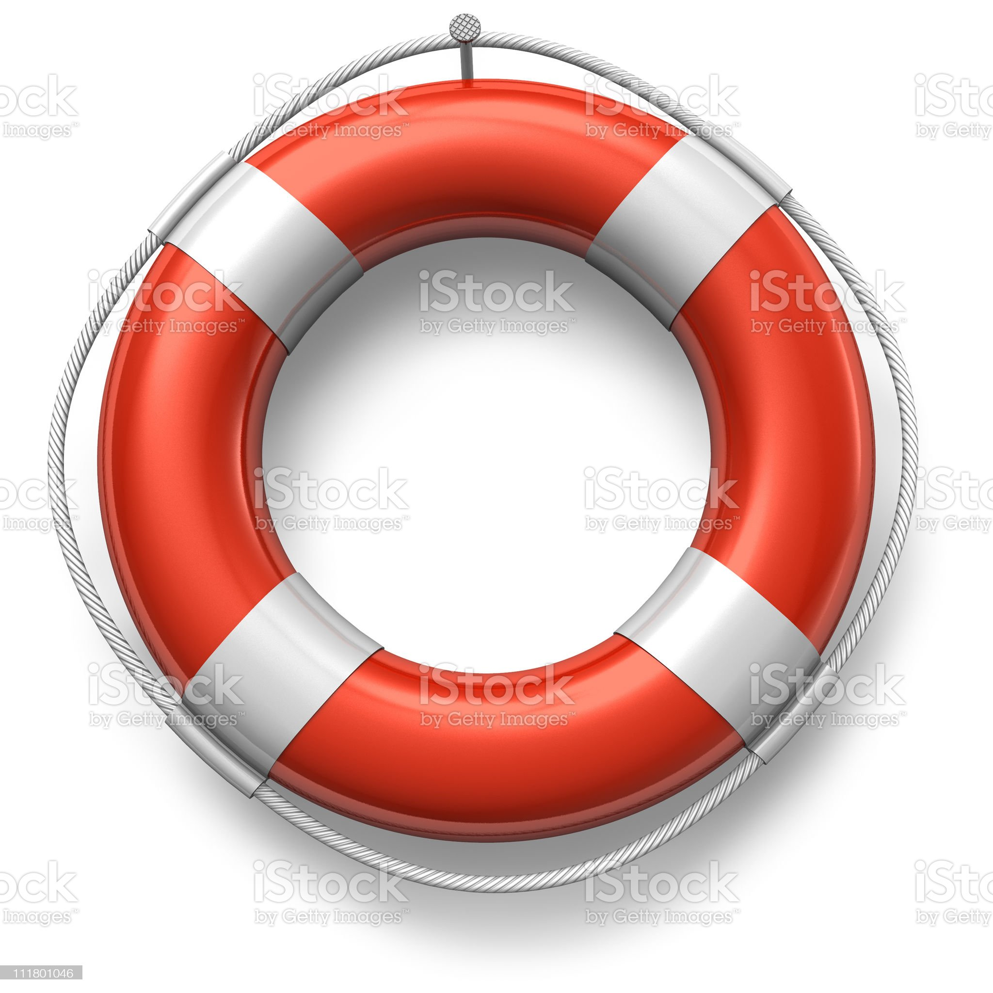 Red lifesaver royalty-free stock photo