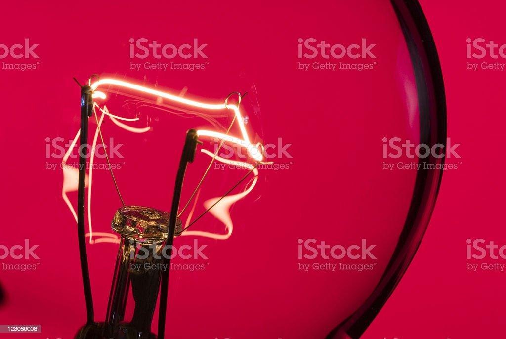 Red Light Macro royalty-free stock photo