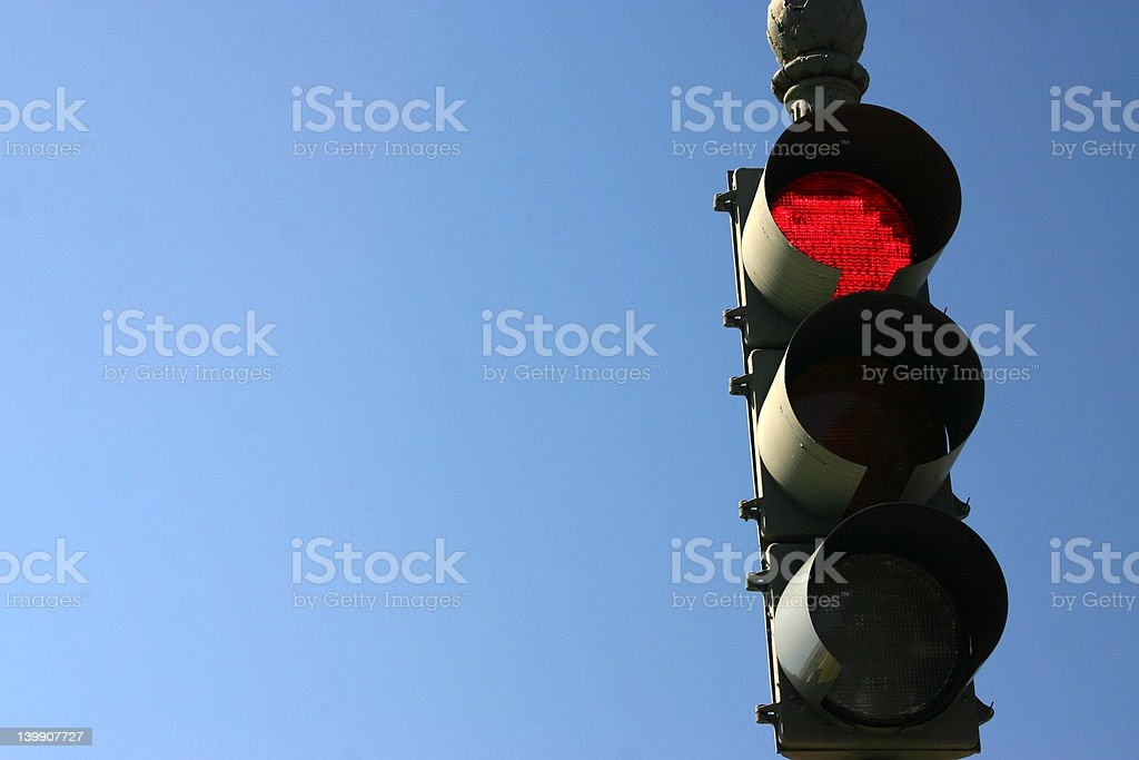 Red Light royalty-free stock photo