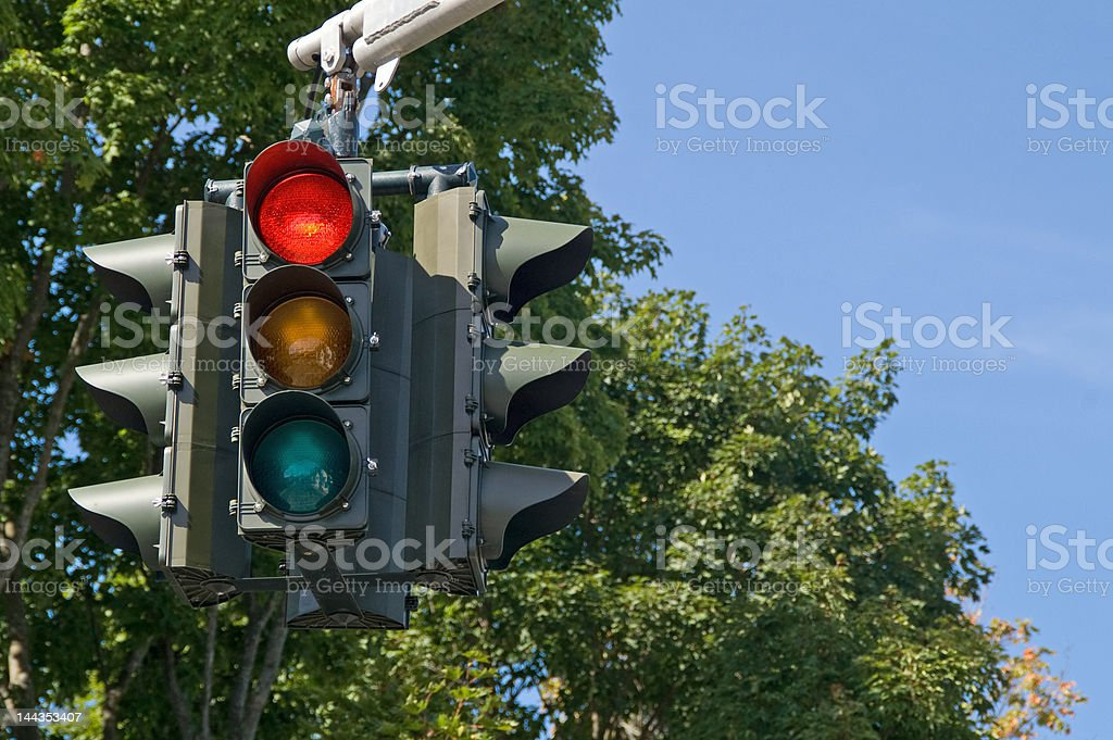 Red Light stock photo