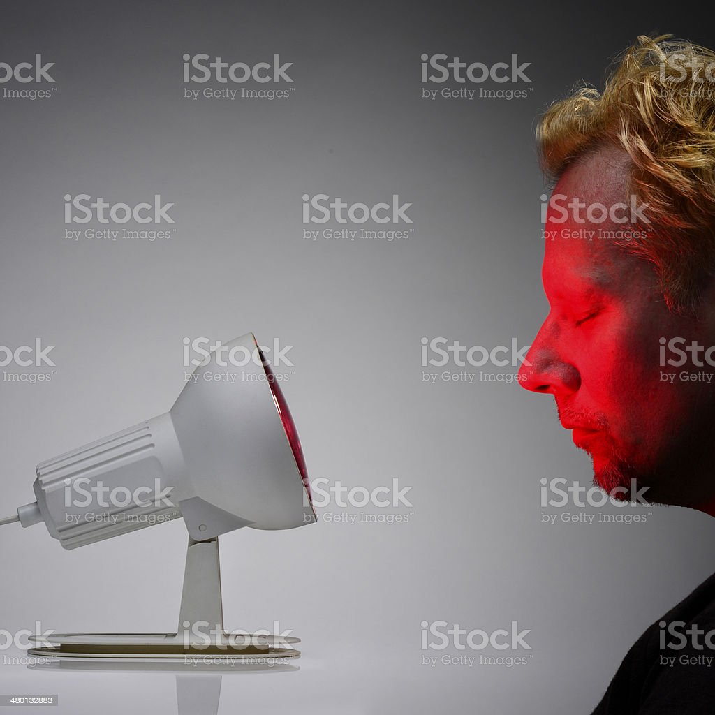 Rotlicht stock photo