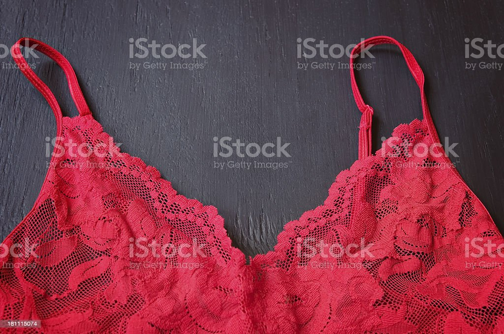 Red Lingerie royalty-free stock photo