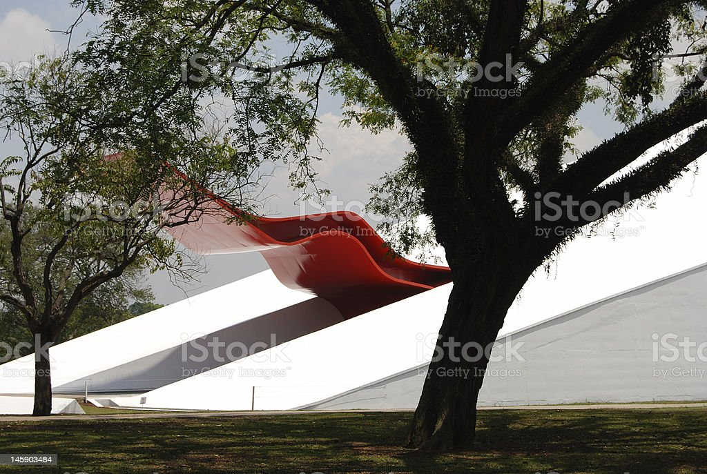 Red marquise stock photo