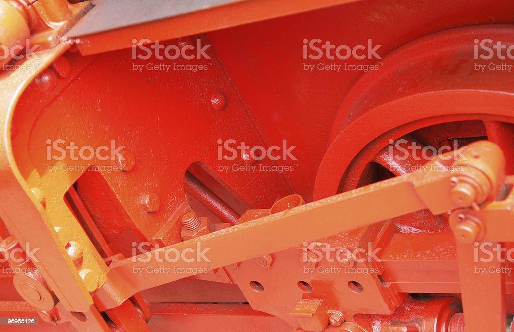 red mechanics stock photo