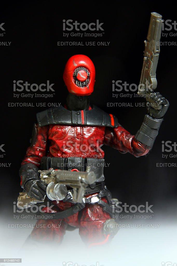 Red Mercenary stock photo
