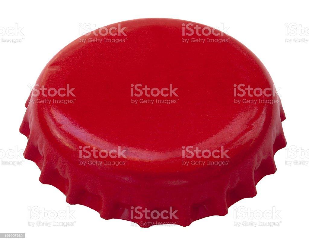 Red Metal Cap royalty-free stock photo